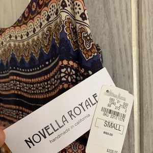 Novella Royale midi dress, pockets, small